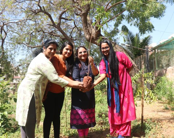 Tree Plantation on Women's Day